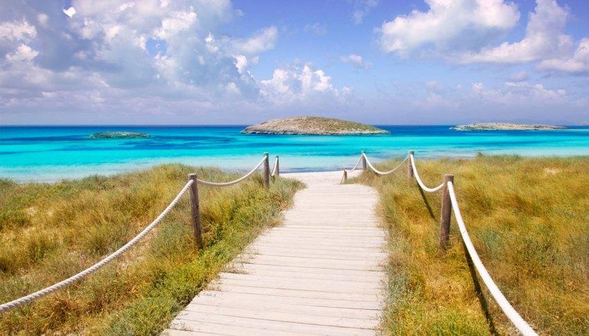 La spiaggia di Ses Illetes