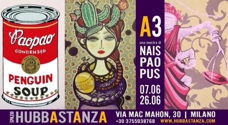 La street art milanese è in mostra all'Hubbastanza