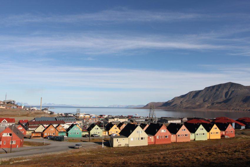 Veduta di Longyearbyen