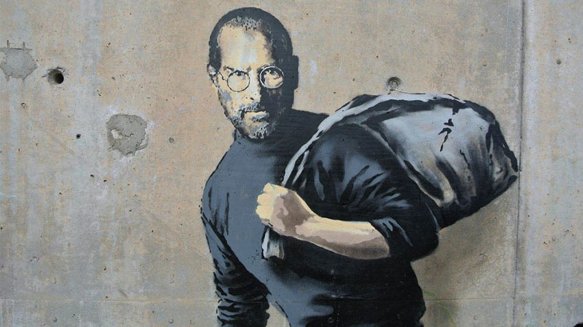 Banksy, The Son of a migrant from Syria. ph credits www.banksy.co.uk