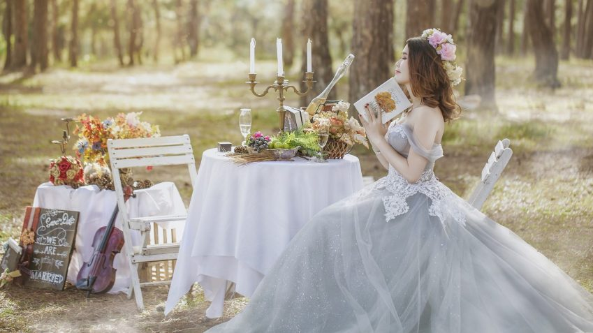 Abito da sposa country chic