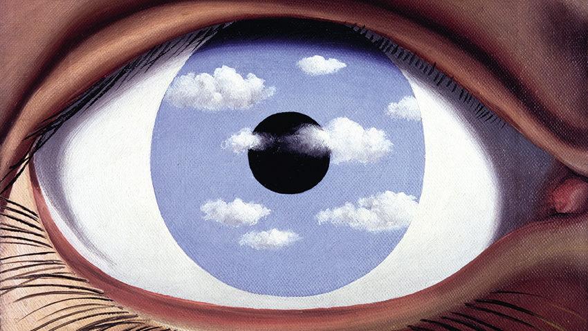 Il falso specchio, Magritte