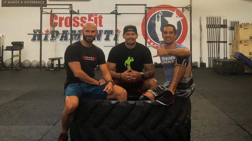 Clemente, Magno e Alessandro, i coach di Crossfit Ripamonti