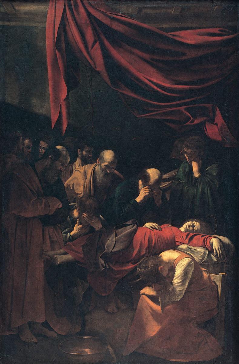 Caravaggio, Morte della Vergine