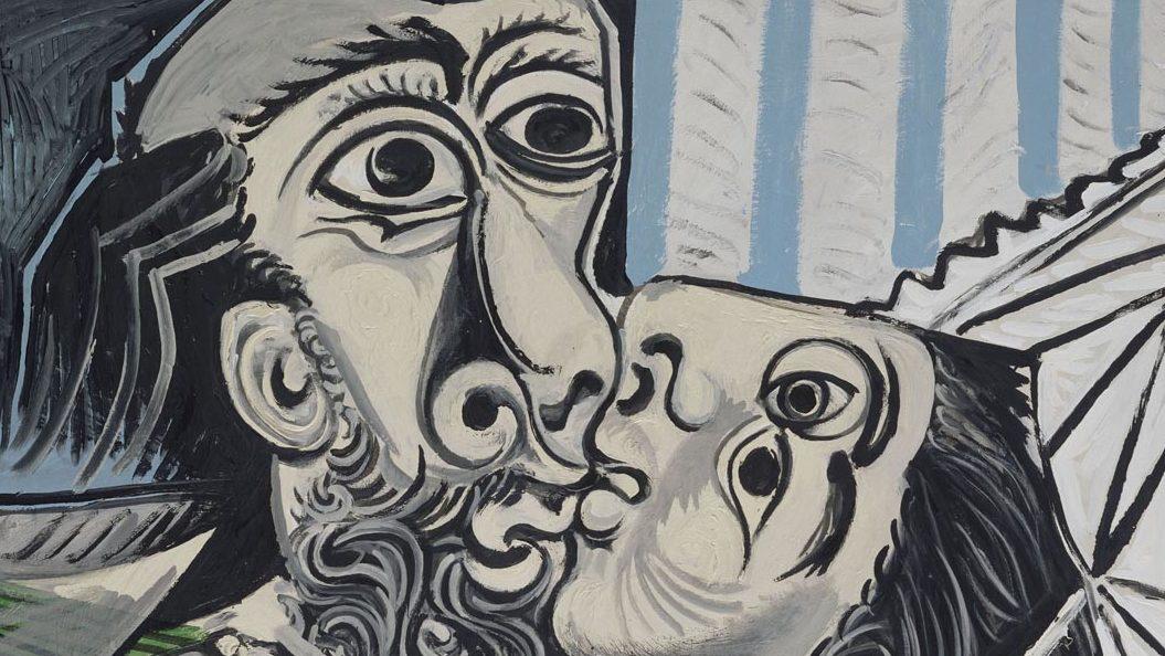 Picasso, Il Bacio. Paris, Musée national Picasso