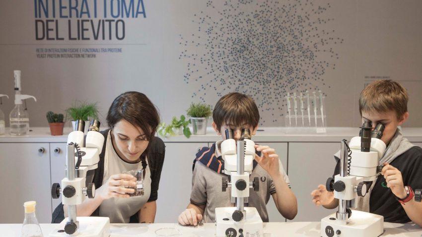 Uno dei laboratori di Halloween al Museo milanese