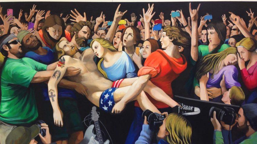 La street art su tela di Emanuele Taglieri