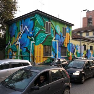 La street art di Taglieri e Ortica Noodles