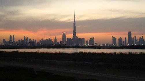 Una suggestiva immagine di Dubai