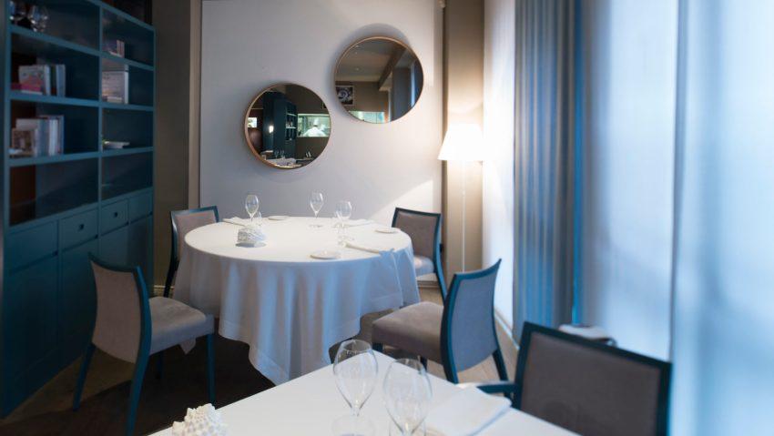 Gli accoglienti spazi del ristorante I Tre Cristi Milano
