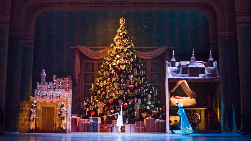 A scene from The Nutcracker by The Royal Ballet @ The Royal Opera House, Covent Garden, London ©Tristram Kenton
