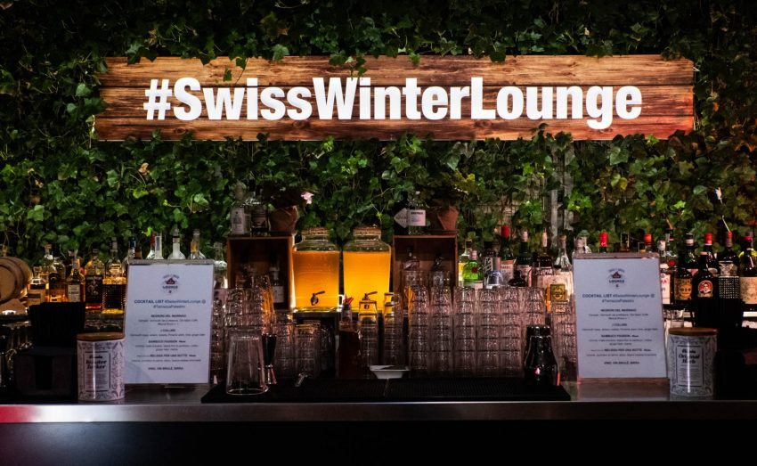 Swiss Winter Lounge alla Terrazza Palestro