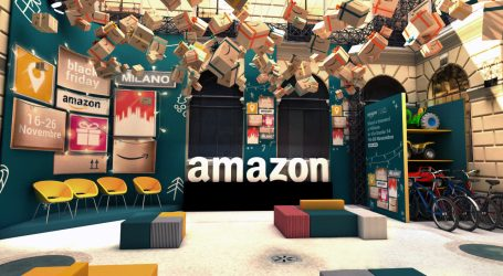 Amazon Milano: apre il primo pop-up store italiano