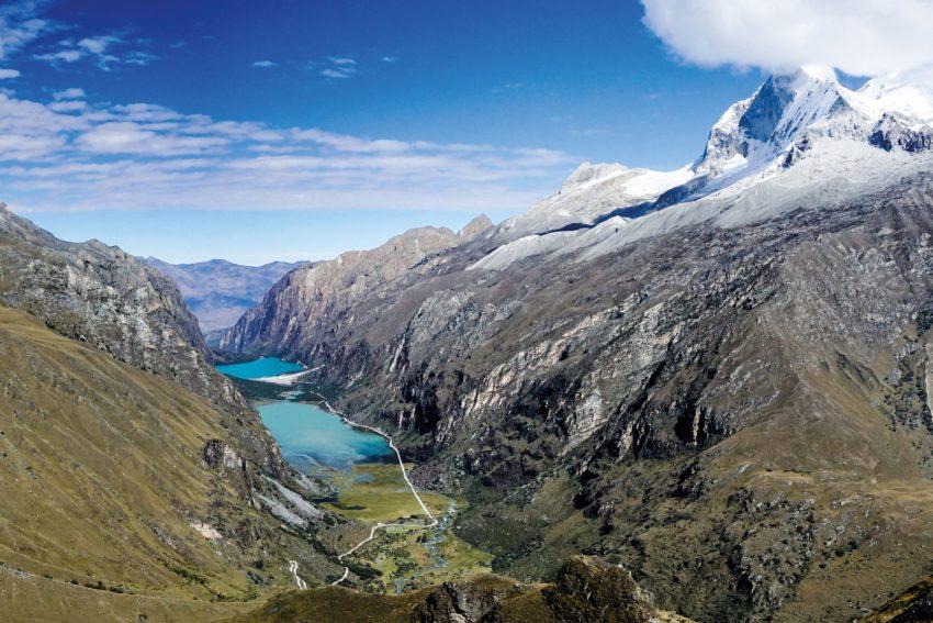 I laghi cristallini della Valle di Llanganuco, nel Nord del Perù, sono incastonati fra le Ande