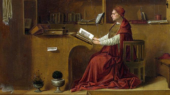 Antonello da Messina, San Girolamo nello studio (National Gallery)