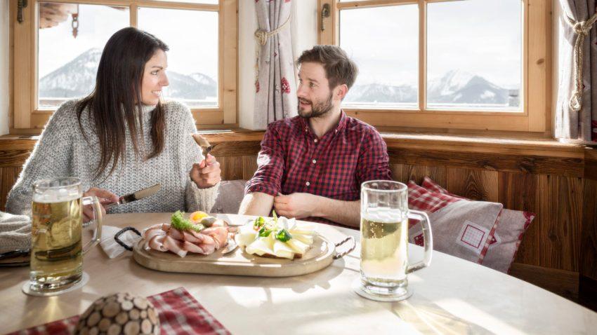 Festeggia San Valentino con una ricca colazione di montagna