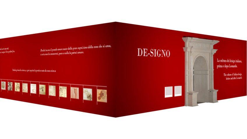 DE-SIGNO, rendering esterno, progetto di Davide Rampello