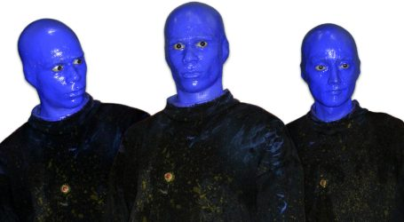 Blue Man Group in scena agli Arcimboldi
