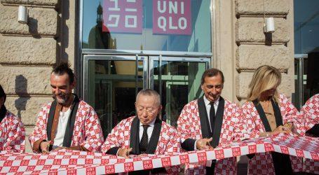 Uniqlo Piazza Cordusio riceve un caloroso benvenuto