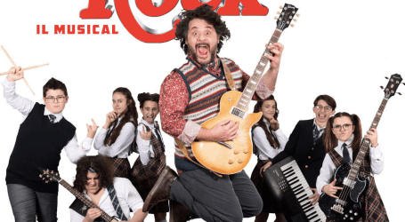 School of Rock al Teatro della Luna