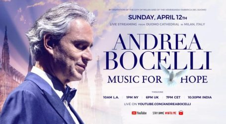 Bocelli: Music for Hope, tutte le informazioni