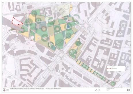 tav.3 - Inquadramento generale progetto definitivo Parco
