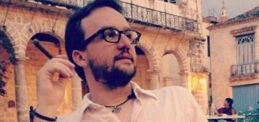 Lo scrittore Paolo Roversi. Cuba, 2013