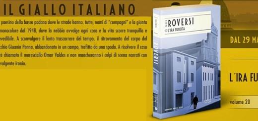 L'ira funesta di Paolo Roversi in edicola col Corriere della Sera - I maestri del giallo italiano