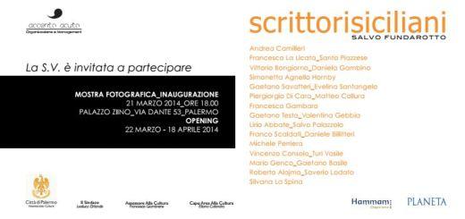 Invito scrittori siciliani mostra