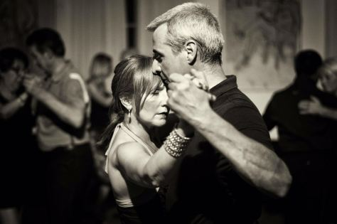 I Maestri di tango Guido Crivellente e Cinzia Sottile