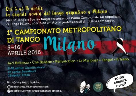 Campionato metropolitano di Tango Milano