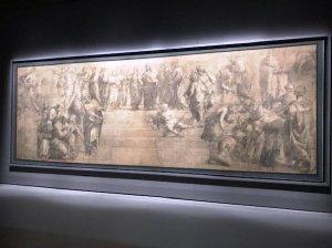 Картон Рафаэля в Амброзианской Библиотеке
