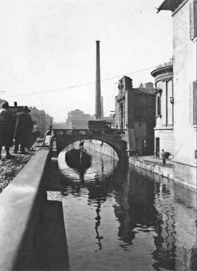 Миланский Университет. Канал на виа Сфорца
