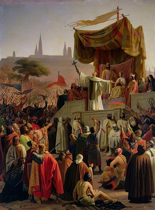 вятой Бернард проповедует Второй крестовый поход в Везеле
