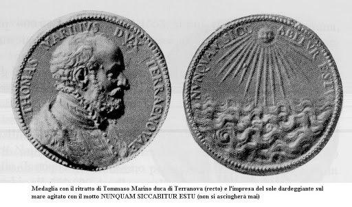 Медаль с изображением Томазо Марино