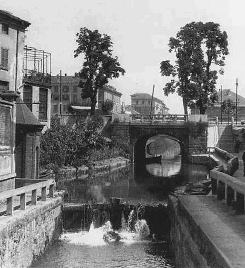 Шлюз дель-Инкороната, архивная фотография