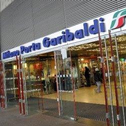 ж/д станция Порта Гарибальди в Милане