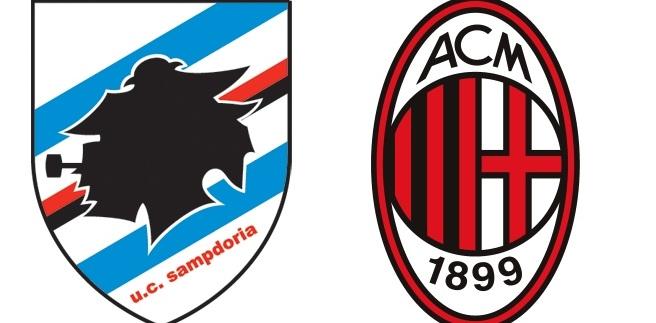 Troliga startelvor (GdS): Sampdoria – Milan