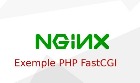 Exemple PHP FastCGI