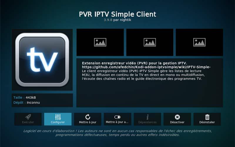 pvr installer configurer