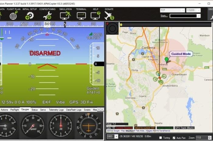 Drones : Mission Planner