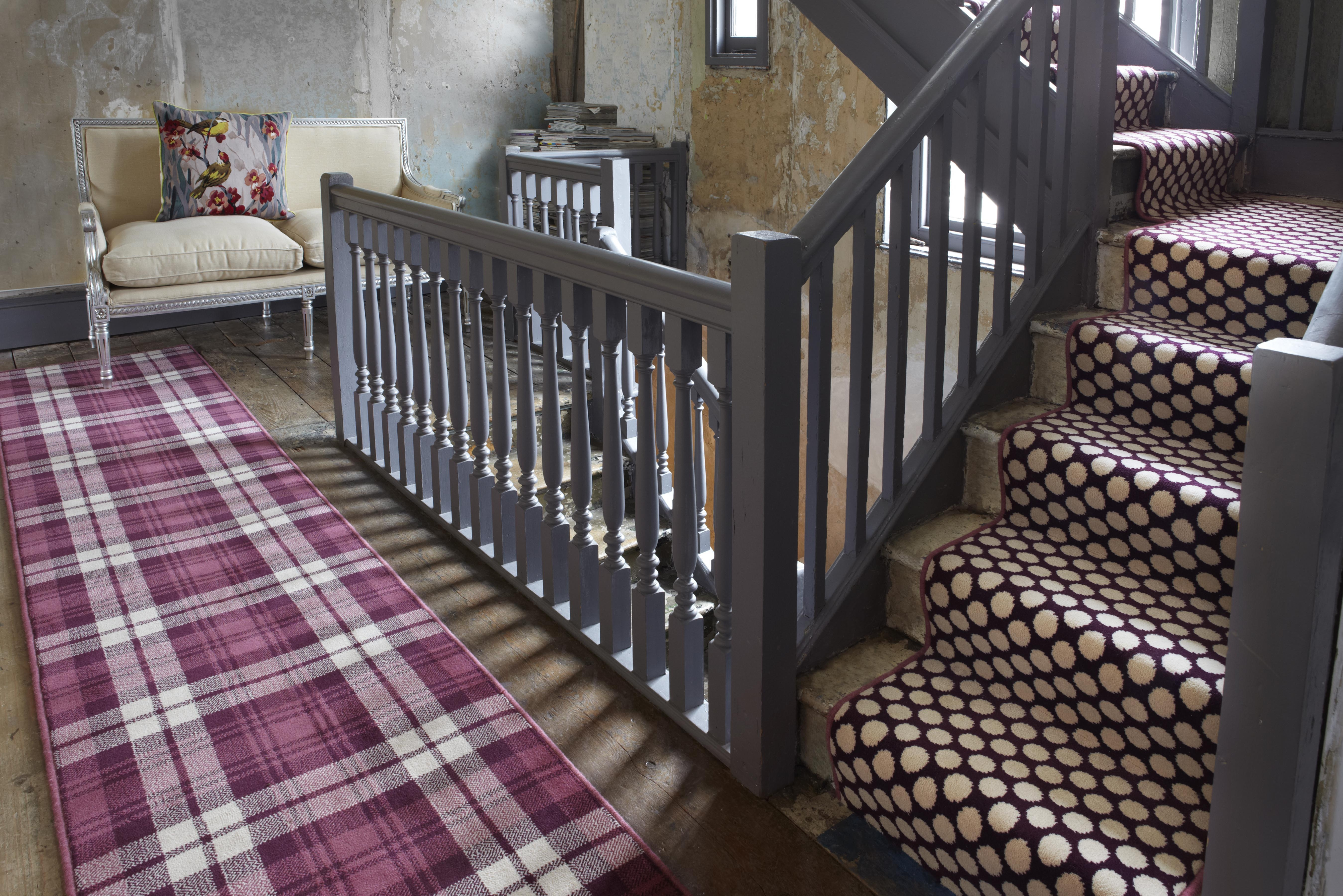 Home Milbank Carpets | Quirky Carpets For Stairs | Designed | Statement | Popular | Flower Patterned | Flowery