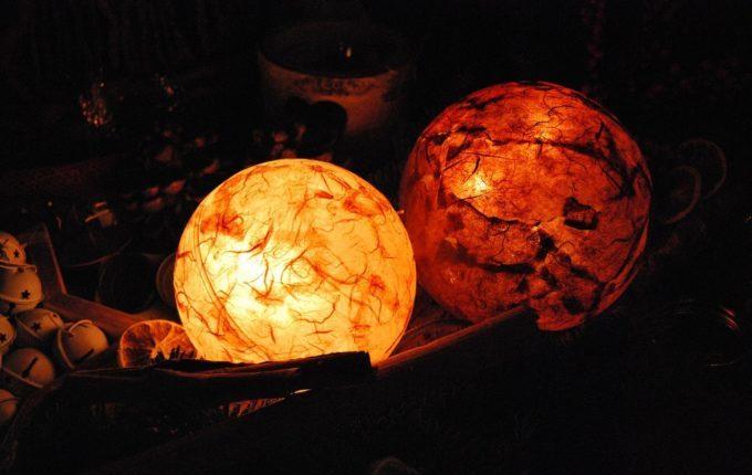 Geburt - warmes Licht