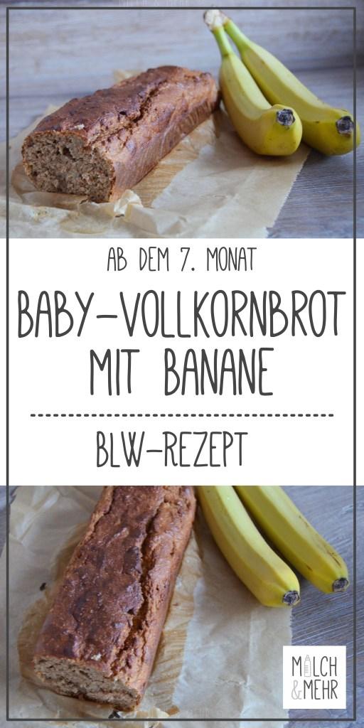 Bananenbrot Rezept zuckerfrei fuer Baby