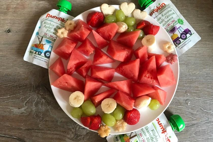 Fruchtquetschi oder Obst