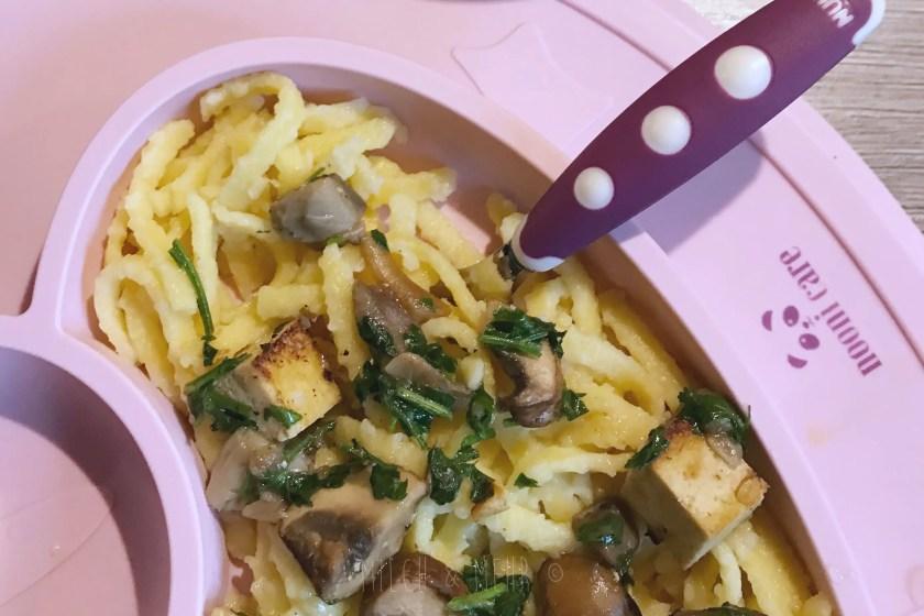 WIB #kw1 Mittag Pilz Tofu
