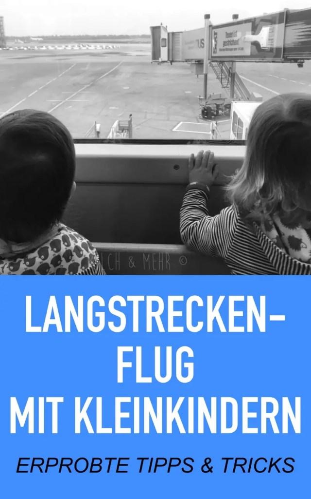 Langstreckenflug Kleinkinder Tipps