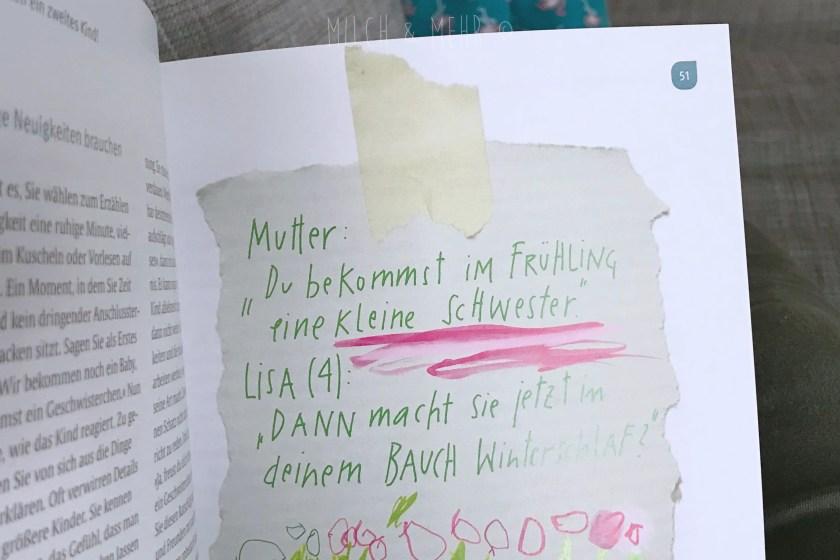 Buchrezension Willkommen Geschwisterchen Nathalie Kluever