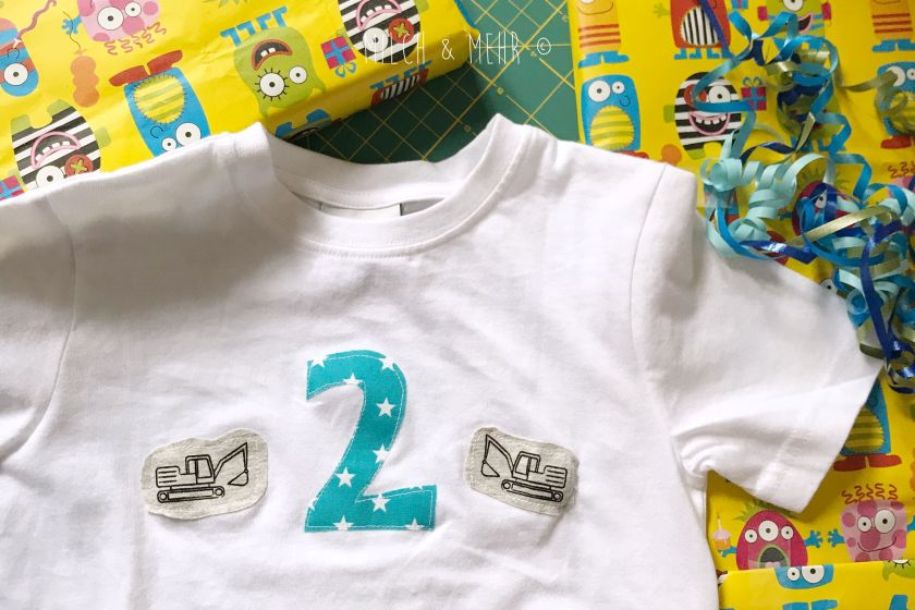 DIY Geburtstagsshirt zum Kindergeburtstag