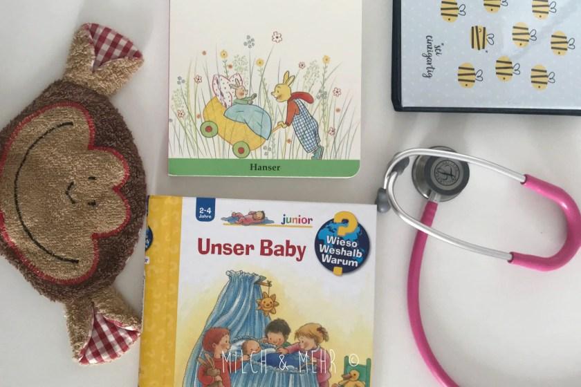 Kleinkinder auf neues Baby vorbereiten